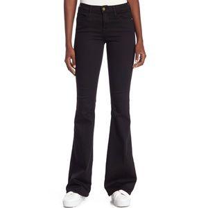 Frame Denim Le High Flare Jeans Vian Sz 27